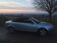 Audi convertible 2.4 02