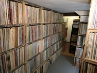 Collection of 221 vinyl records : English-Canadian artists