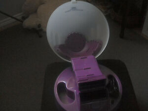 Salon style hair dryer