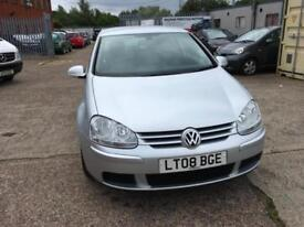 Volkswagen Golf 1.6 FSI ( 115PS ) 2008MY Match mot until 6/6/19