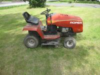 Tracteur à pelouse Roper