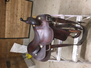 "16"" billy cook cutting saddle"