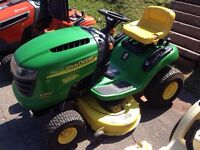 USED JOHN DEERE L100 Serviced and ready to cut grass!