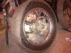 ice race tires, wraps