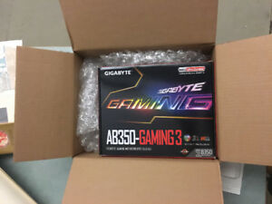 Motherboard GIGABYTE *UNOPENED* GA-AB350-GAMING 3 AM4 socket