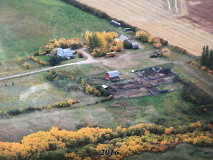 Acreage for Rent Ten Minutes from Battleford