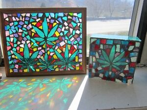 BC's Best Series Unique mosaic stained glass