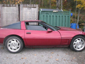 Updated Photos, 1995 Corvette with removable Targa top