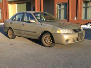 02 Sentra perfect for EV purchase