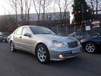 Mercedes C Class -Benz 1.8 C180 Kompressor Classic SE 4dr, **GREAT VALUE** (silver) 2004
