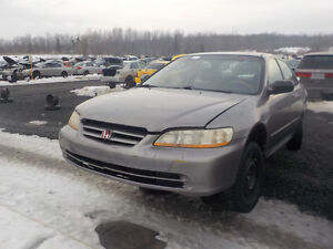 2001 Honda Accord Now Available At Kenny U-Pull Cornwall