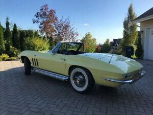 1966 Chevrolet Corvette Stingray L79 Matching # 327/350 Manual