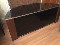 Corner tv cupboard table