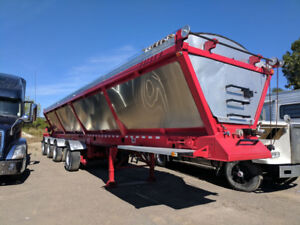 Live Bottom Trailer for Sale - 4 Axle, ABS