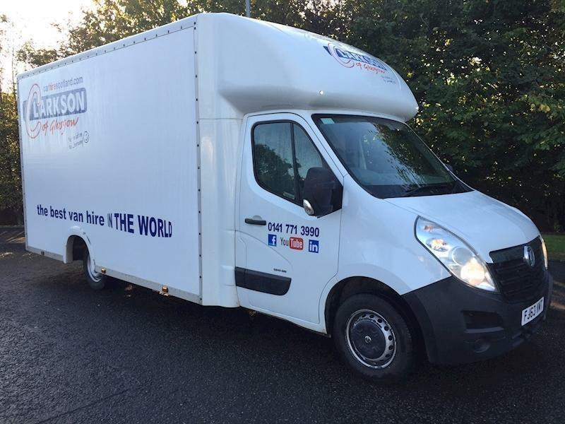 2014 Vauxhall Movano F3500 high capacity LoLoader wide body box van