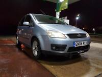 Ford Focus C-MAX 1.6TDCi 2004 Zetec- CAMBELT CHANGED - FULL LEATHERS - HPI CLEAR
