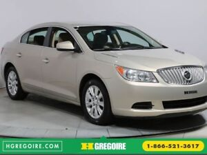 2011 Buick Lacrosse CX AUTO A/C BLUETOOTH MAGS
