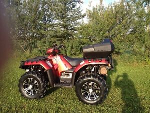very clean 2009 polaris 850xp and EPS