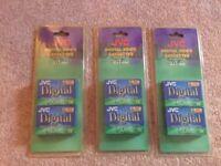 JVC DV D60 6 x Mini Digital Camcorder Mini Video Tape Cassettes. NEW & SEALED