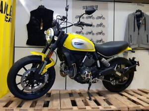 2017 Ducati Scrambler Icon 62 Yellow