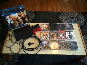 500 GB Playstation 3 + accessories + 15 games!!! $175obo
