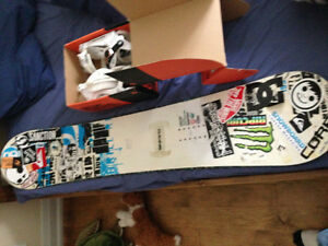 Ride DH2 with NEW Ride EX bindings Windsor Region Ontario image 1