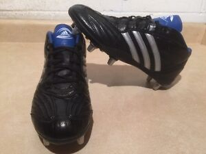 Men's Adidas wideFit Rugby Cleats Size 9.5