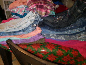Huge lot of girl clothes sizes 10/12/14