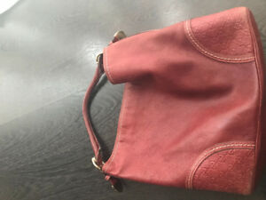 Gucci leather signora hobo bag