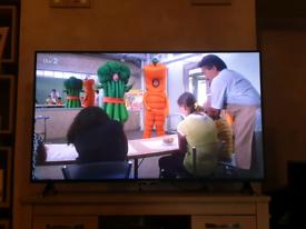 """Bush 55"""" smart tv with remote"""