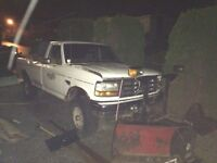 95 ford powerstroke Plow truck