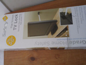 Flat screen tv lock by Safety
