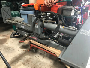 WOOD SPLITTER FOR SALE MUST SELL WALLENSTEIN 3 POINT HITCH STYLE