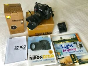 Nikon D7100, great cameras, low shutter actions.