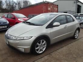 Honda Civic 1.8i-VTEC ( Glass Roof ) EX 5 DOOR HATCH WITH LEATHER AND SAT NAV