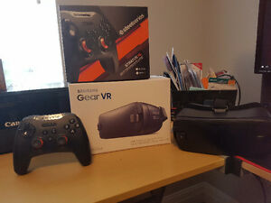 Samsung Gear VR with Steelseries Stratus XL controller