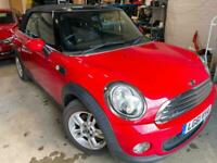 2011 MINI CONVERTIBLE 1.6 One 2dr *ONE PREVIOUS OWNER* Service History