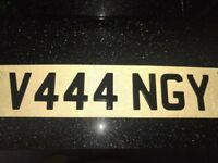 Cherished Personalised Private Number Plate Registration Ang Angela Angie