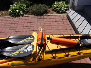 KAYAK TEMPEST 170 COMPLETE PACKAGE + EXTRAS!!