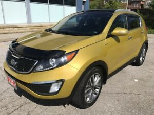 2011 Kia Sportage SX|AWD|Back Up Cam|Leather|Moonroof|
