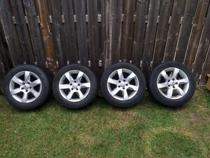 Set of 4 All Season Tires on Rims 215/60R16