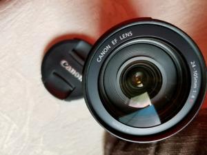 Canon 24-105mm macro ultrasonic  f4 is