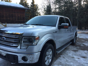 2014 F-150 Ford Lariat EcoBoost Super Crew Low mileage