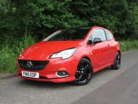 2015 15 VAUXHALL CORSA 1.4 LIMITED EDITION 3D 89 BHP RED HATCHBACK