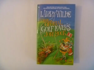 The Official GOLF LOVER'S Joke Book by Larry Wilde