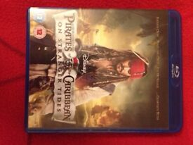 Pirates of the Caribbean Blue Ray