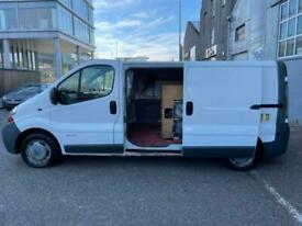 *WINDOWS CLEANER FULLY EQUIPPED VAN* RENAULT TRAFIC 1.9 DCI *FULL YEAR MOT*