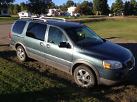 2005 Pontiac Montana SV6 AWD DVD EXTENDED FULLY LOADED