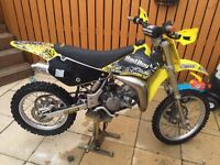 Suzuki rm85 big wheel model 2007