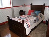 Set de chambre en BOIS MASSIF CafeKid / Solid wood bedroom set Laval / North Shore Greater Montréal Preview